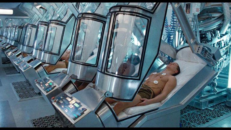 """La cápsula de """"Alien"""". El diseño de la cápsula de hipotermia de la empresa Spaceworks se asemeja a la que se podía ver en la película """"Alien""""."""