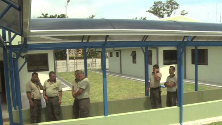 COSTA RICA. Cárcel La Reforma, donde detectaron el hecho (Captura de video).