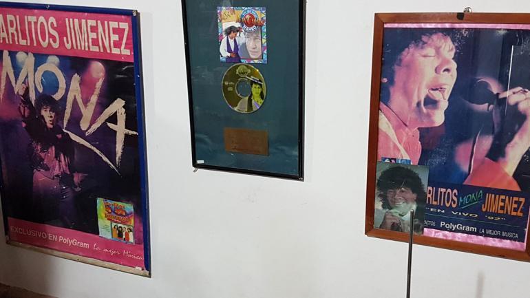 SOY CORDOBÉS. La leyenda del cuarteto también está presente en el museo (La Voz).