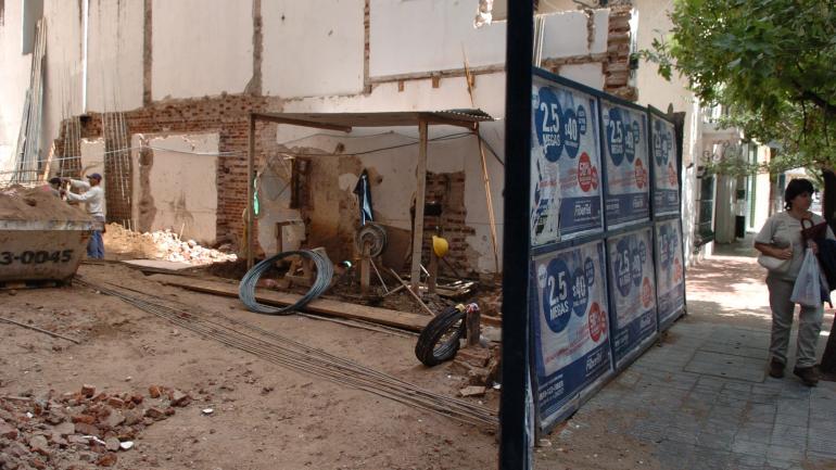 CASA. En 2006, y en medio de conversaciones de expropiación, la vivienda fue demolida. (Archivo La Voz)