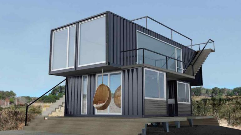 Una nueva forma de habitar las casas container noticias al instante desde la voz - Casas modulares contenedores ...
