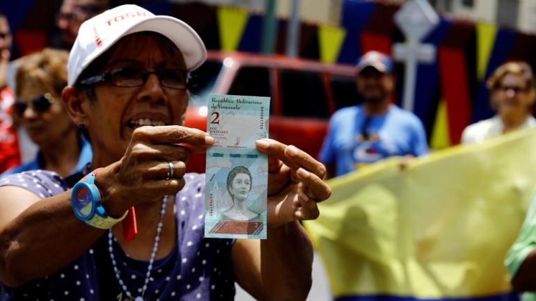 CRISIS EN VENEZUELA. Cada vez más personas escapan de su país (AP).
