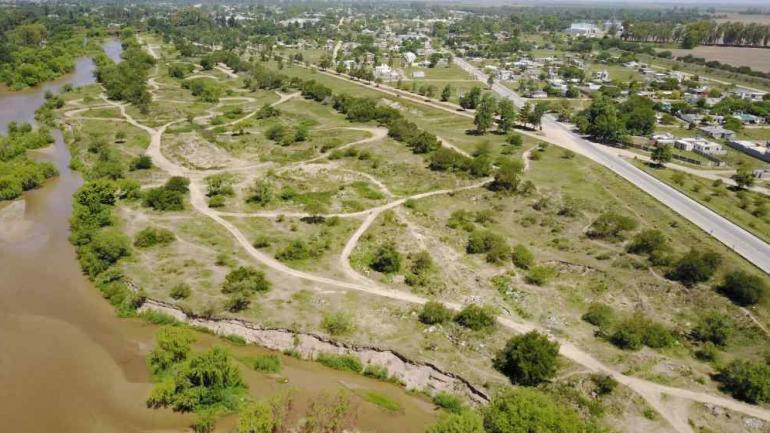 Once hectáreas. Las tierras sobre el Xanaes cuestan $56 millones y fueron vendidas a un millón, en cuotas. (La Voz)
