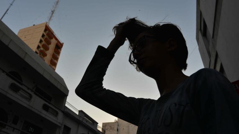 """El """"look"""" de Brenda. La joven eligió un corte de pelo. Su colegio lo consideró apropiado. (Nicolás Bravo)"""