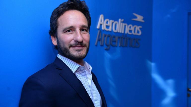 Búsqueda. Es el proceso que lanzó ayer en Córdoba el director de Abastecimiento de Aerolíneas Argentinas, Bruno Finiello. (Nicolás Bravo)