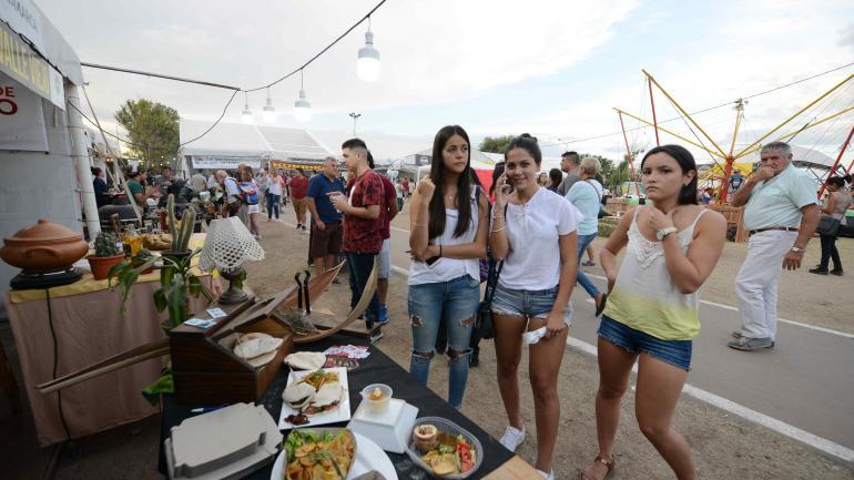 En Alta Gracia, la fiesta gastronómica Peperina tuvo buena convocatoria.