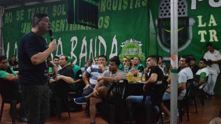 """Furioso con Mestre. Mauricio Saillén acusó al intendente de pelearse con el Surrbac para """"tapar su ineficacia"""". (Facebook)"""