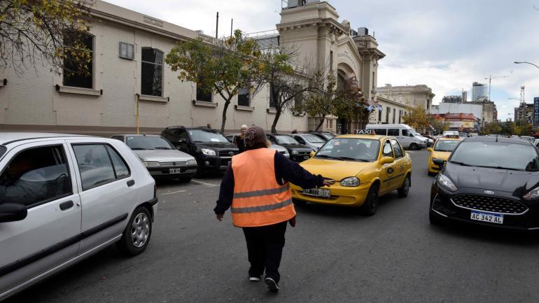 De compras. La zona del Mercado Norte está incluida en el sector de adjudicamiento de Movypark. (Ramiro Pereyra)