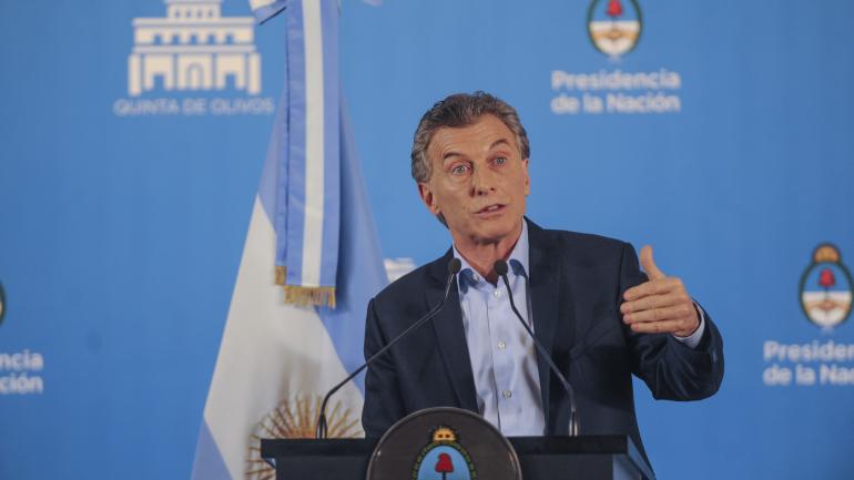 Olivos. Macri pidió compromiso de todos los sectores. (Federico López Claro)