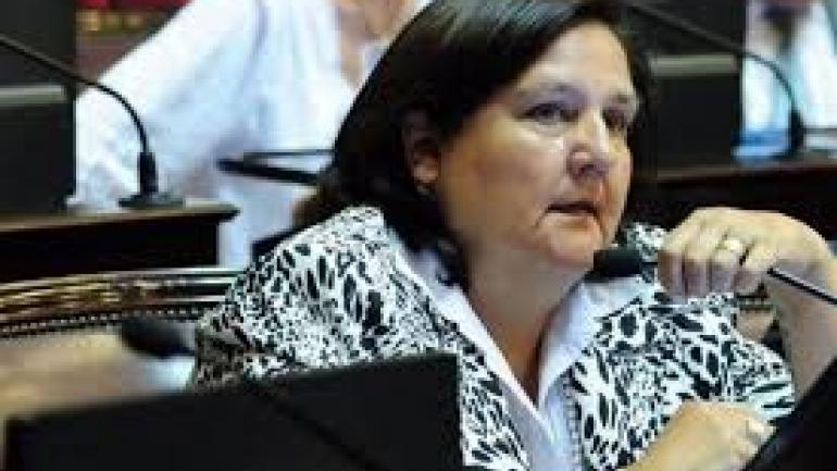 Inés Blas (PJ-Catamarca). Anticipó ayer su voto en contra.