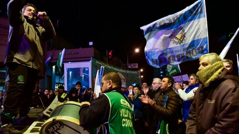 Villa María. Las acciones de protesta por los despidos siguen, con apoyo del municipio y varios sectores. (La Voz)
