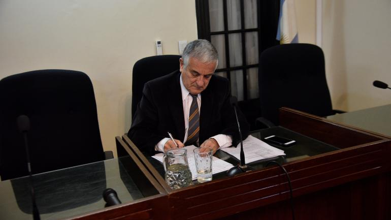 Juez. El juicio tuvo un tribunal unipersonal, a cargo de Carlos Lascano.