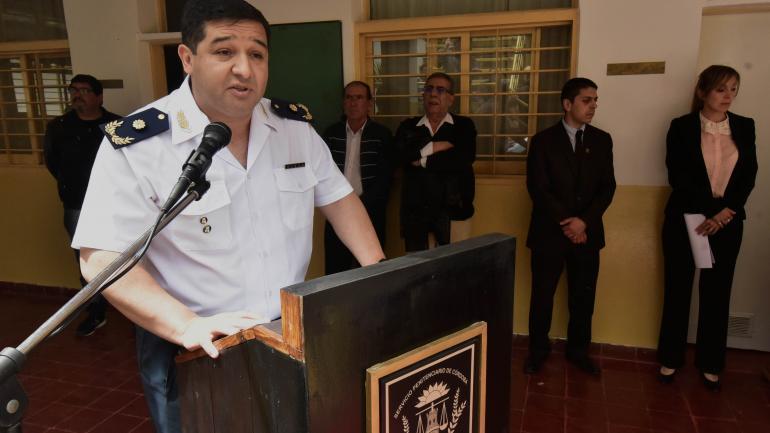 Imputado. José Ernesto Herlan, el director de la cárcel de Villa María, está imputado y se le inició un sumario interno. (La Voz/Archivo)