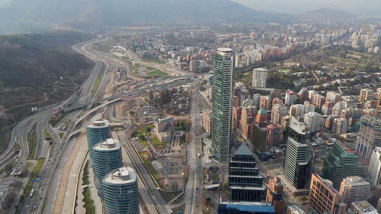 Una de las postales chilenas desde el mirador más alto de Sudamérica.