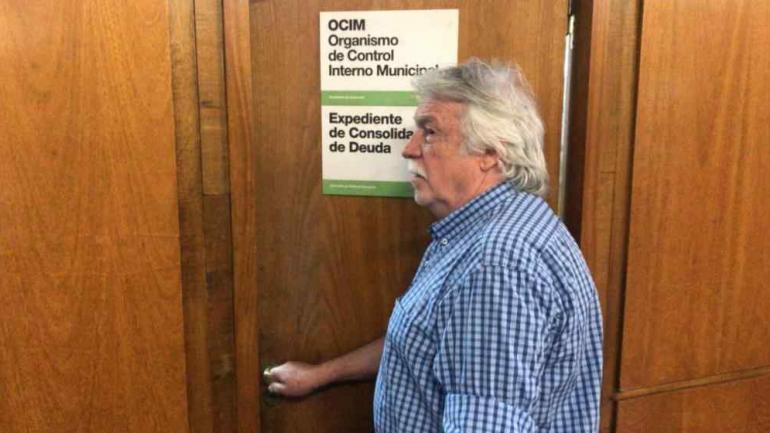 RUBÉN DANIELE. Volvió a trabajar en el Palacio 6 de Julio después de 33 años, sólo para pedir licencia al poco tiempo (La Voz/Archivo).