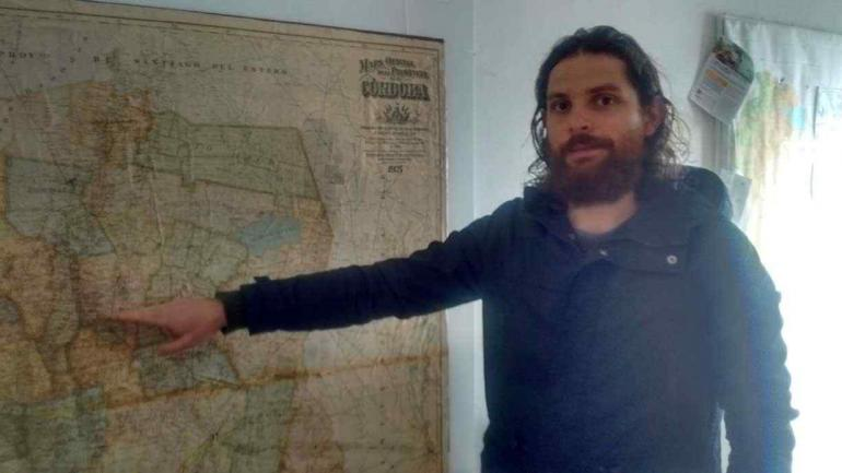 GEÓGRAFO. Joaquín Deón (La Voz).