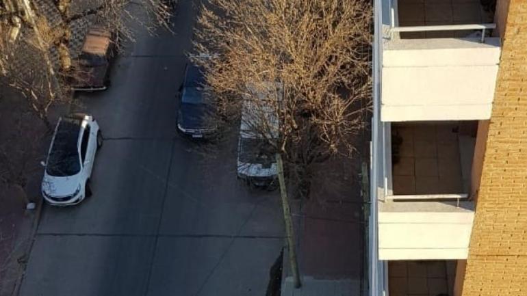 RÍO CUARTO. El balcón del que cayó (La Voz).