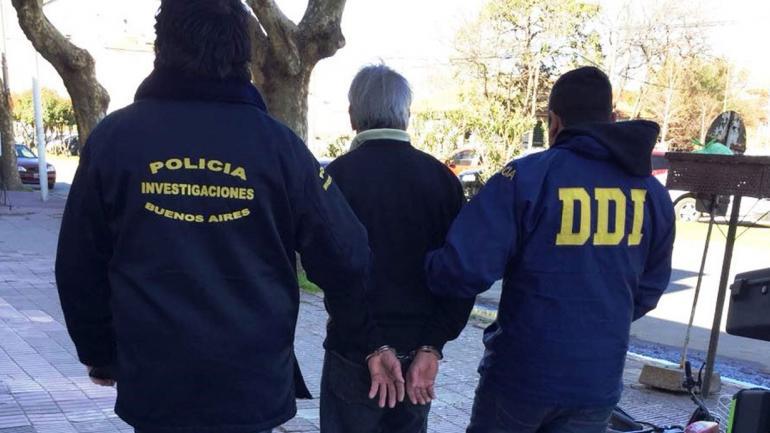 DETENIDO. En la foto (Gobierno bonaerense).
