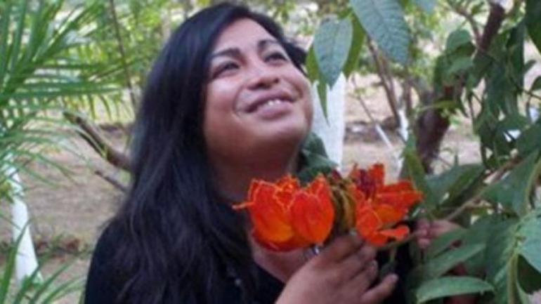 DIANA SACAYÁN. La activista asesinada en 2015 (La Voz/Archivo).