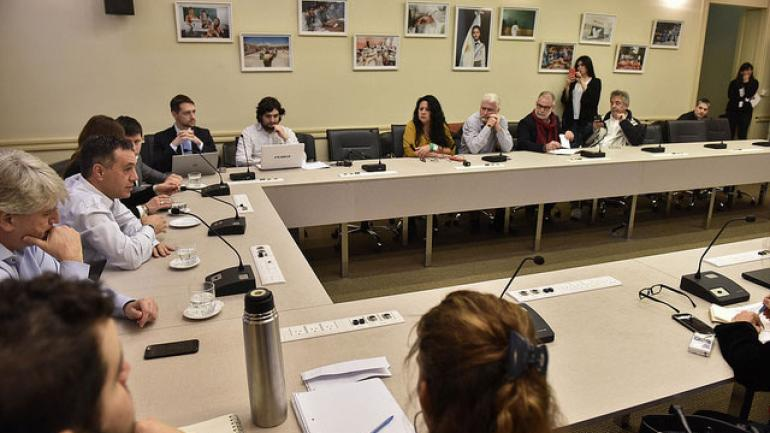 BUENOS AIRES. Reunión con gremios universitarios (Ministerio de Educación).