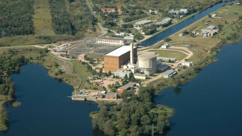 Central nuclear de Embalse (La Voz).
