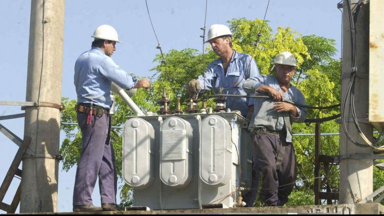 EPEC. Trabajos por mantenimiento (La Voz/Archivo).