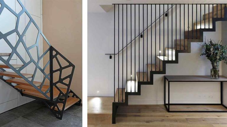Barandas de escaleras beautiful barandas de escaleras - Baranda de escalera ...