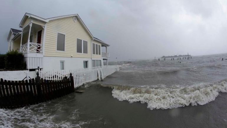 ESTADOS UNIDOS. La tormenta Florence todavía sigue activa (AP).