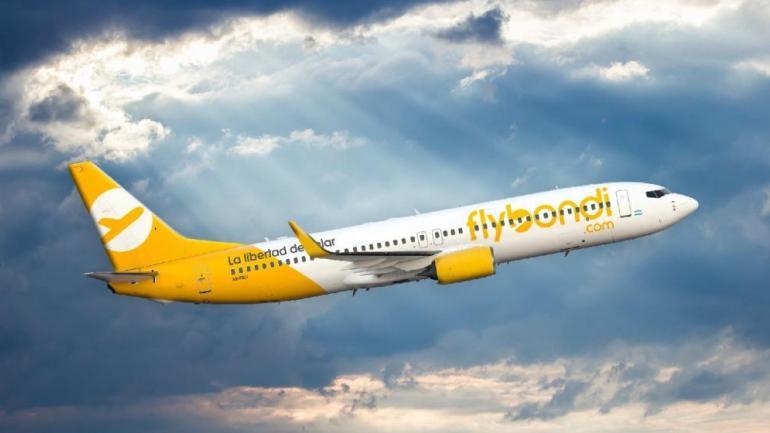 Flybondi, una de las low cost que esperaba esta medida (Archivo/La Voz).