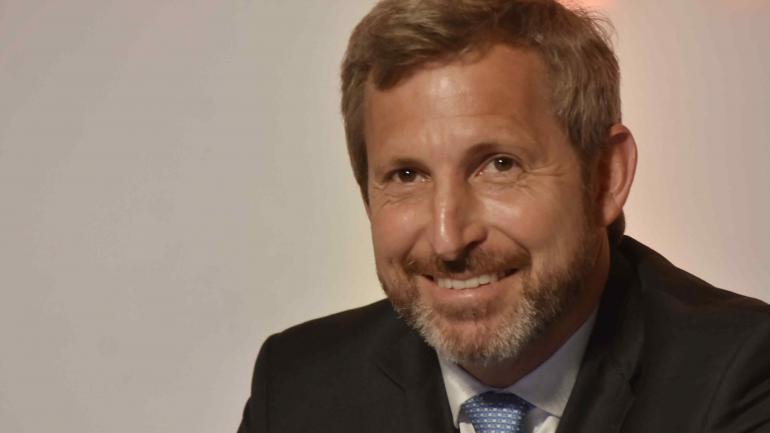 El ministro del Interior, Obras Públicas y Vivienda, Rogelio Frigerio. (DyN / Archivo)