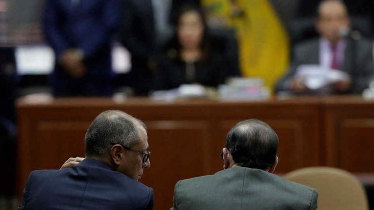 JORGE GLAS. Vicepresidente de Ecuador (AP/Archivo).
