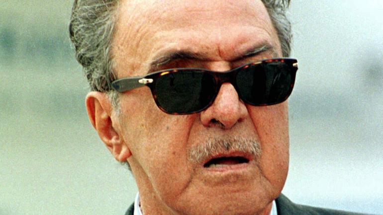 GUSTAVO LEIGHT. Su esposa (ahora viuda) promete revelar conversaciones de él junto a Pinochet (AP / Archivo).