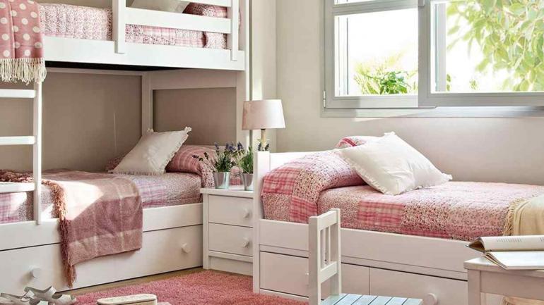 Habitaciones infantiles: cómo ganar espacio con muebles prácticos ...
