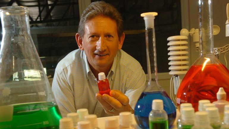 HÉCTOR LACA. El empresario busca siempre que sus inversiones sean avanzados en materia de biotecnología (Ramiro Pereyra/Archivo)