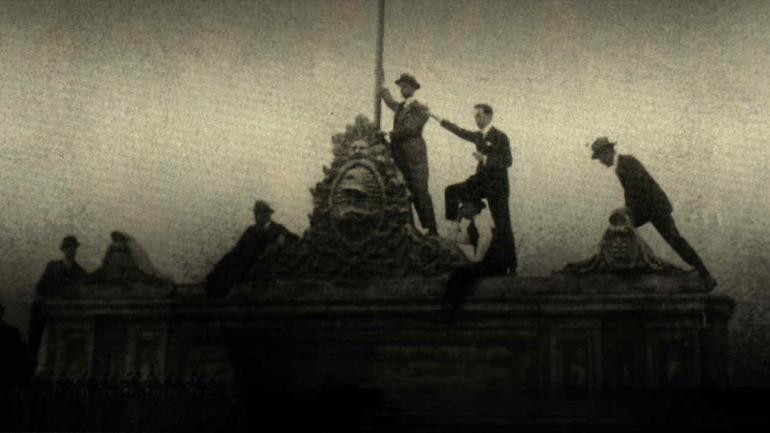 Símbolo. La imagen más recordad de la Reforma Universitaria de 1918.