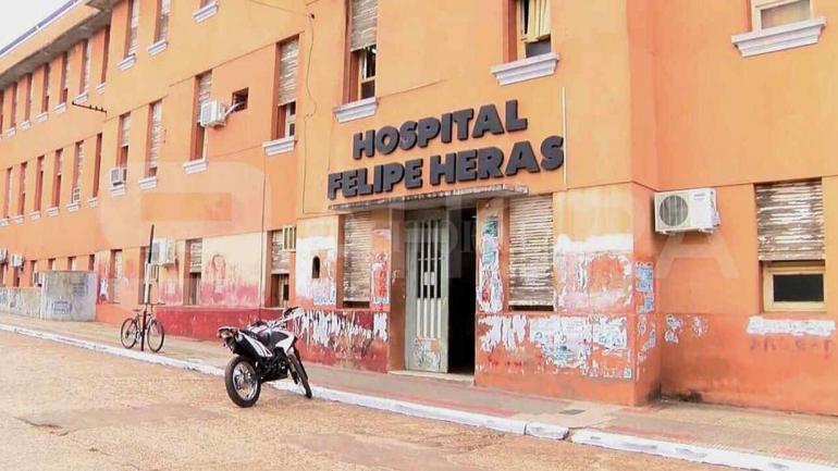 CONCORDIA. El nosocomio donde ingresó Sosa sin signos vitales (Foto: diario El Litoral).