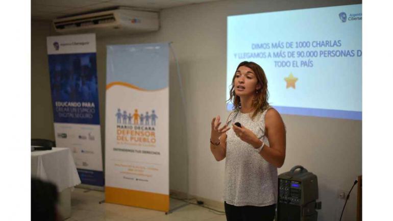 """El pasado miércoles tuvo lugar la jornada de capacitación para docentes """"Cultura Digital en el Aula"""" . (Defensoría del Pueblo de Córdoba)"""