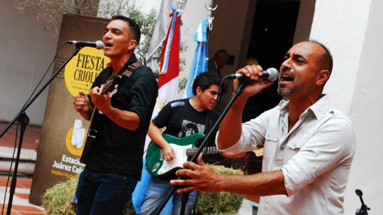 La actución de Jarillal también se destacó en la presentación de la Fiesta Criolla 2018 (Estación Juárez Celman).