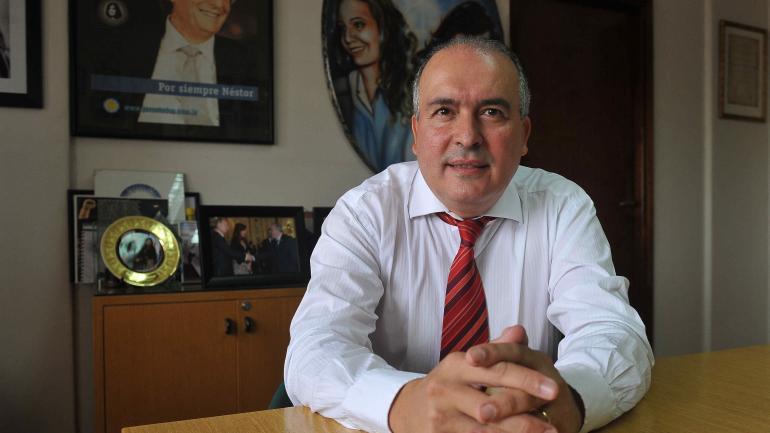 José López. Detenido con 9 millones de dólares.