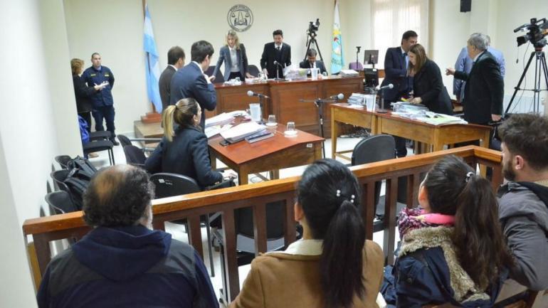 EN EL BANQUILLO. Julieta Silva (Foto diario Los Andes).