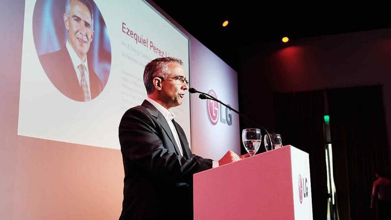 Ezequiel Pérez Lippi, Senior Manager HVAC - LG Electronics Argentina. (LG)