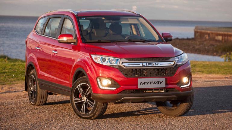 LIFAN. Tiene una oferta amplia de modelos: desde SUV hasta utilitarios.