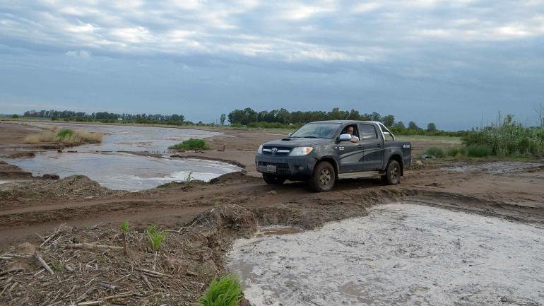 El río tendría una profundidad de un metro por dos de ancho (LaVoz).