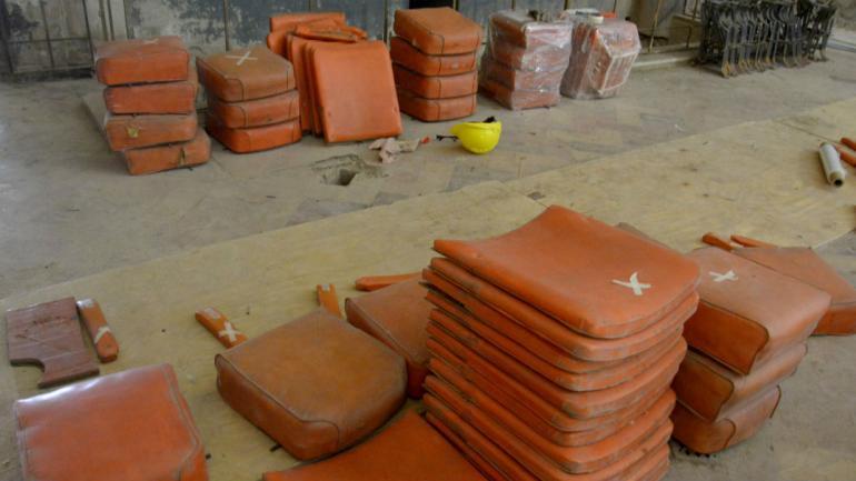 Cambios. Las butacas serán realizadas a nuevas. (Foto Municipalidad de Córdoba)