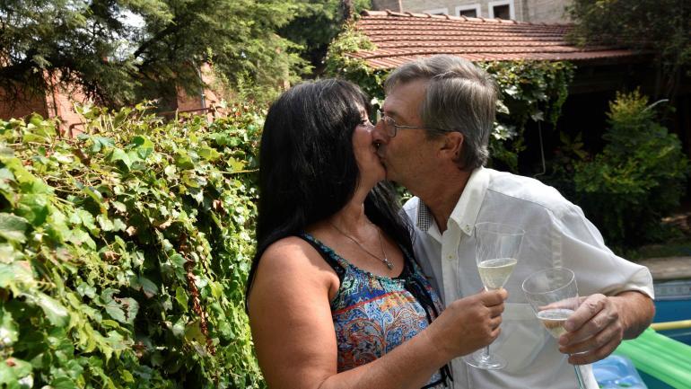Lidia y Eduardo. 9 meses juntos.