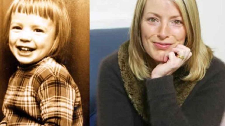 Lucy Vodden O'Donnell. La amiga de Julian Lennon, en la infancia y en la adultez.