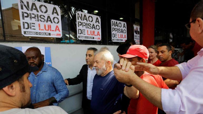 BRASIL. Lula da Silva, expresidente (DPA/Archivo).