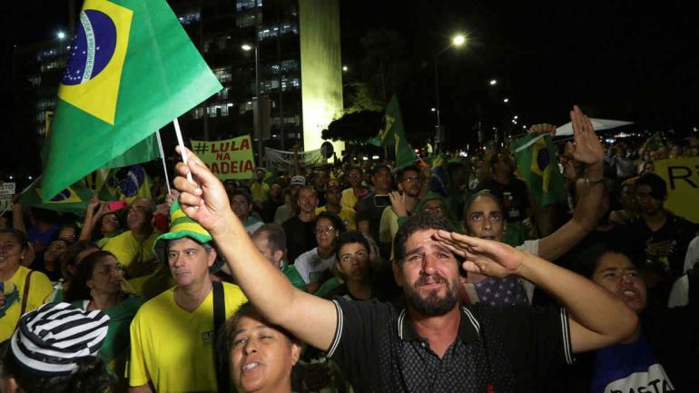 BRASIL. Rechazaron el habeas corpus a favor de Lula (AP).