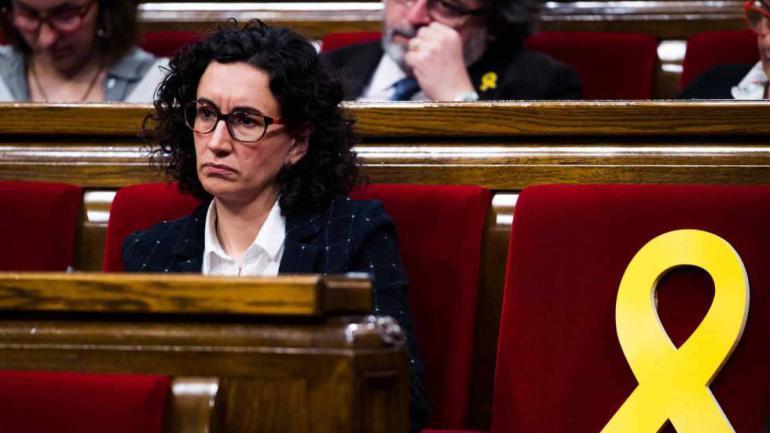 Marta Rovira. La secretaria general de ERC. (Gentileza de Getty)