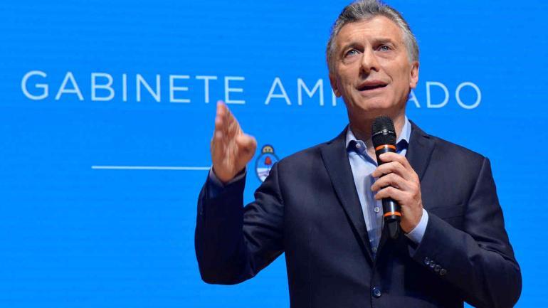 MAURICIO MACRI. Presidente de la Nación (La Voz/Archivo).